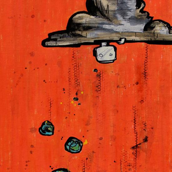 a gap: a cloudburst - malditomosquito