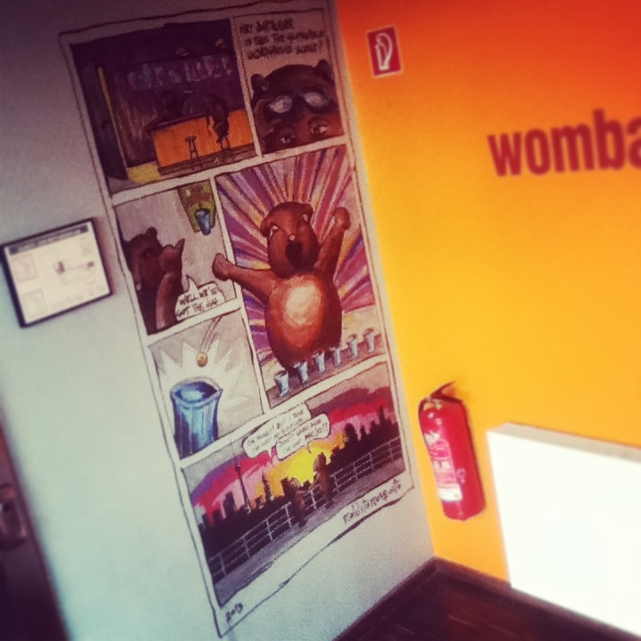 mean wombats at Wombat's - malditomosquito 10